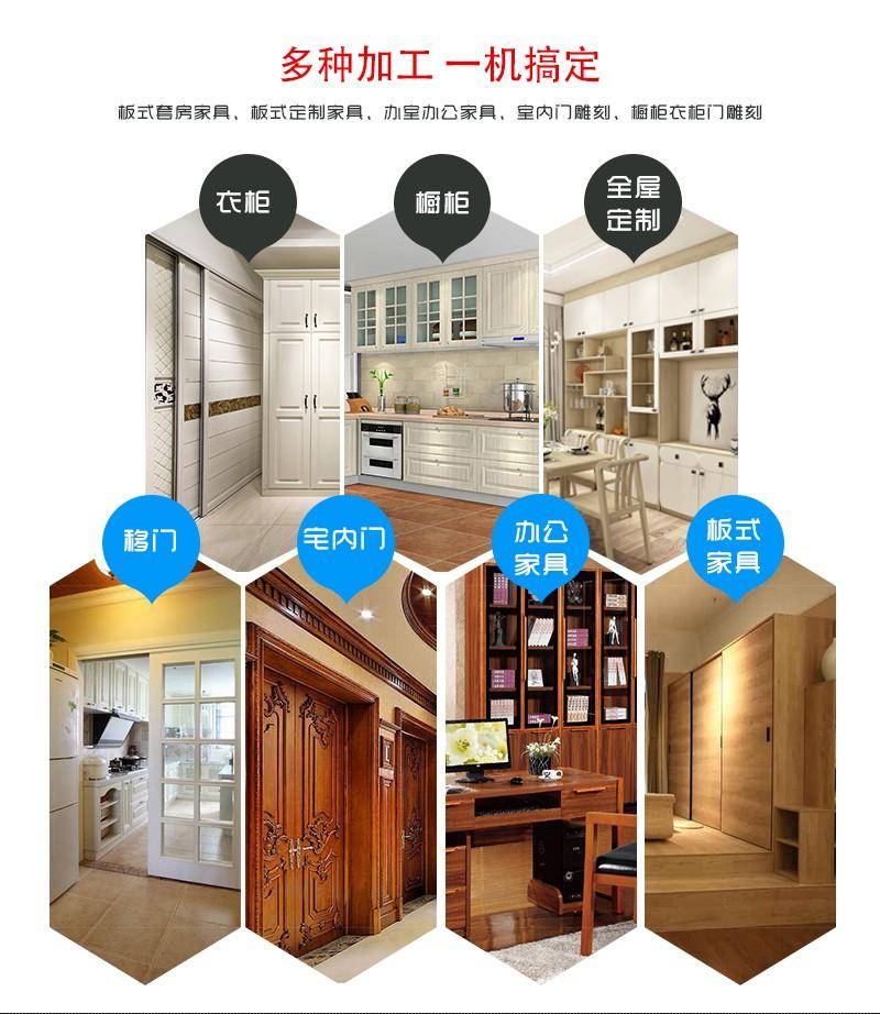 木工雕刻机_河南木工雕刻机_板式家具雕刻机_图腾数控